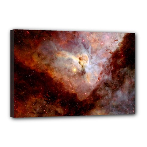 Carina Nebula Canvas 18  X 12  by SpaceShop