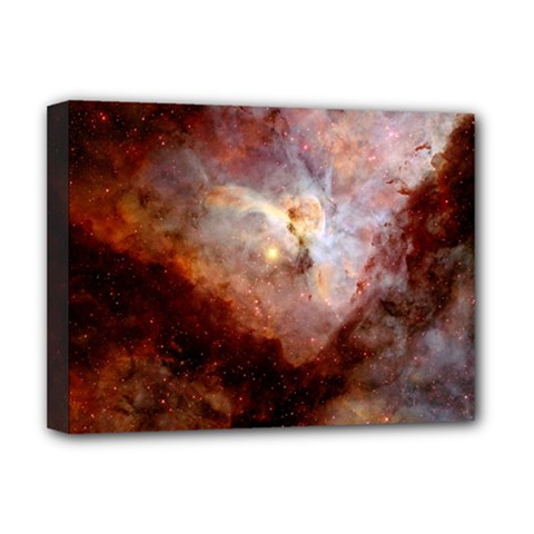 Carina Nebula Deluxe Canvas 16  X 12   by SpaceShop