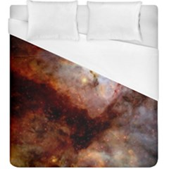 Carina Nebula Duvet Cover (king Size) by SpaceShop