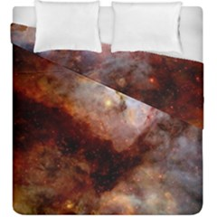 Carina Nebula Duvet Cover Double Side (king Size) by SpaceShop