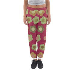 Floral Pattern Women s Jogger Sweatpants by Valentinaart
