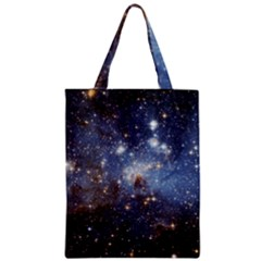 Large Magellanic Cloud Zipper Classic Tote Bag by SpaceShop