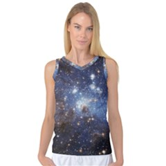 Large Magellanic Cloud Women s Basketball Tank Top by SpaceShop