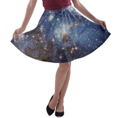 Large Magellanic Cloud A-line Skater Skirt by SpaceShop