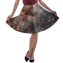 Tarantula Nebula A-line Skater Skirt by SpaceShop