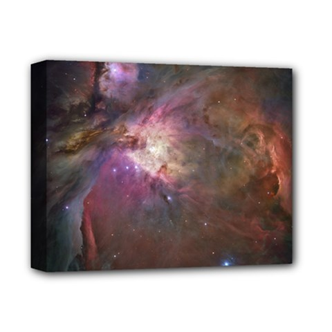 Orion Nebula Deluxe Canvas 14  X 11  by SpaceShop