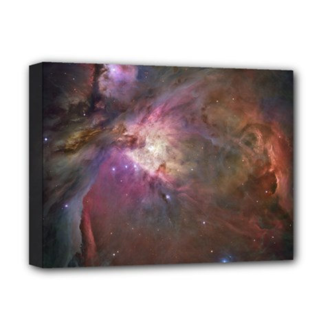 Orion Nebula Deluxe Canvas 16  X 12   by SpaceShop