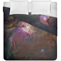Orion Nebula Duvet Cover Double Side (king Size) by SpaceShop