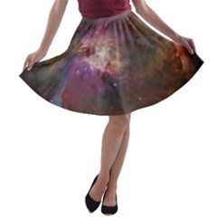 Orion Nebula A-line Skater Skirt by SpaceShop