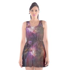 Orion Nebula Scoop Neck Skater Dress by SpaceShop