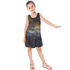 Propeller Nebula Kids  Sleeveless Dress by SpaceShop