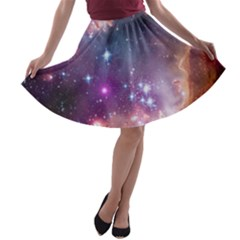 Small Magellanic Cloud A-line Skater Skirt by SpaceShop