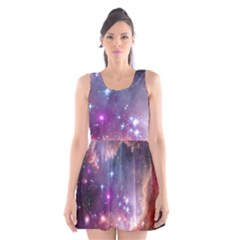 Small Magellanic Cloud Scoop Neck Skater Dress by SpaceShop