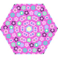Floral Pattern Mini Folding Umbrellas by Valentinaart