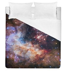 Celestial Fireworks Duvet Cover (queen Size) by SpaceShop