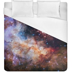 Celestial Fireworks Duvet Cover (king Size) by SpaceShop