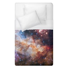 Celestial Fireworks Duvet Cover (single Size) by SpaceShop