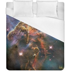 Pillar And Jets Duvet Cover (california King Size) by SpaceShop