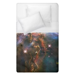 Pillar And Jets Duvet Cover (single Size) by SpaceShop