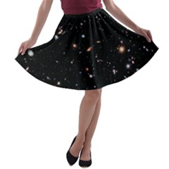 Extreme Deep Field A-line Skater Skirt by SpaceShop