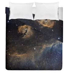 Seagull Nebula Duvet Cover Double Side (queen Size) by SpaceShop