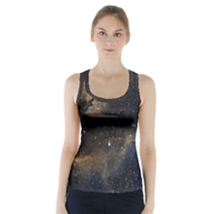 Seagull Nebula Racer Back Sports Top by SpaceShop