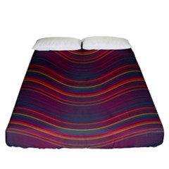 Pattern Fitted Sheet (california King Size) by Valentinaart