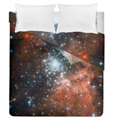 Star Cluster Duvet Cover Double Side (queen Size) by SpaceShop