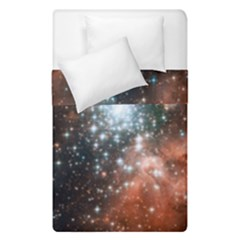 Star Cluster Duvet Cover Double Side (single Size) by SpaceShop