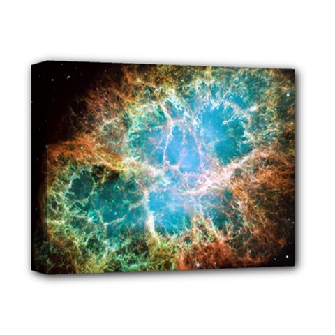 Crab Nebula Deluxe Canvas 14  X 11  by SpaceShop