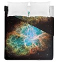 Crab Nebula Duvet Cover Double Side (Queen Size) View1