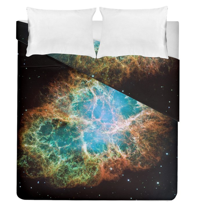 Crab Nebula Duvet Cover Double Side (Queen Size)