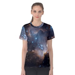 New Stars Women s Cotton Tee by SpaceShop
