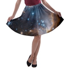 New Stars A-line Skater Skirt by SpaceShop