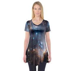 New Stars Short Sleeve Tunic  by SpaceShop