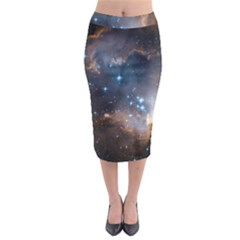 New Stars Midi Pencil Skirt by SpaceShop