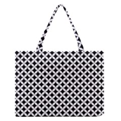 Pattern Medium Zipper Tote Bag by Valentinaart