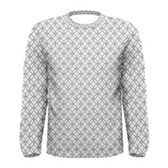 Pattern Men s Long Sleeve Tee by Valentinaart