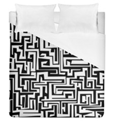 Pattern Duvet Cover (queen Size) by Valentinaart