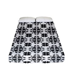 Pattern Fitted Sheet (full/ Double Size) by Valentinaart