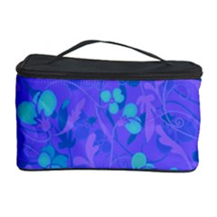 Floral Pattern Cosmetic Storage Case by Valentinaart