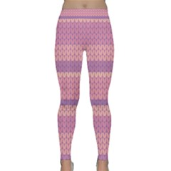 Pattern Classic Yoga Leggings by Valentinaart