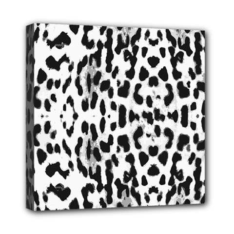 Animal Print Mini Canvas 8  X 8  by Valentinaart