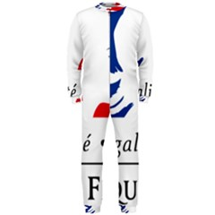 Symbol Of The French Government Onepiece Jumpsuit (men)  by abbeyz71