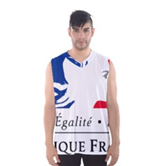 Symbol Of The French Government Men s Basketball Tank Top by abbeyz71