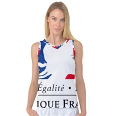 Symbol Of The French Government Women s Basketball Tank Top by abbeyz71
