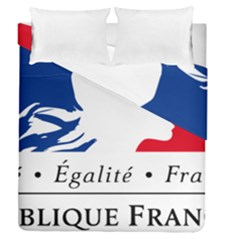 Symbol Of The French Government Duvet Cover Double Side (queen Size) by abbeyz71