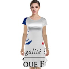 Symbol Of The French Government Cap Sleeve Nightdress by abbeyz71