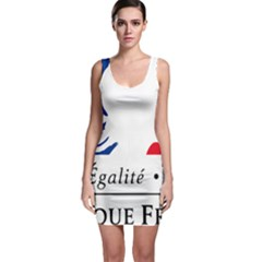 Symbol Of The French Government Sleeveless Bodycon Dress by abbeyz71