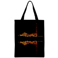 Waste Incineration Incinerator Zipper Classic Tote Bag by Simbadda